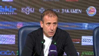 """bulduk - Abdullah Avcı: """"Lige Trabzonspor galibiyetiyle başlamak önemliydi"""""""
