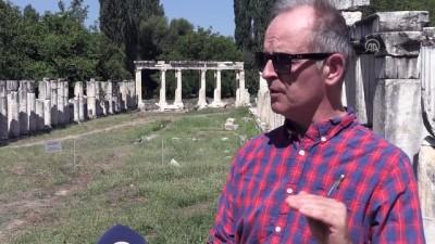 Antik stadyumda 'kombine' izleri - AYDIN