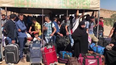 Cilvegözü Sınır Kapısı'ndan bayram geçişleri sürüyor - HATAY