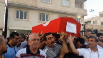 Erzurum'da hayatını kaybeden asker Nusaybin'de defnedildi