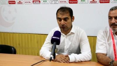 Giresunspor - Eskişehirspor maçının ardından -Metin Diyadin ve Fuat Çapa - GİRESUN