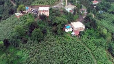 aybasi -  Ordu'da 18 evin boşaltıldığı bölge havadan görüntülendi