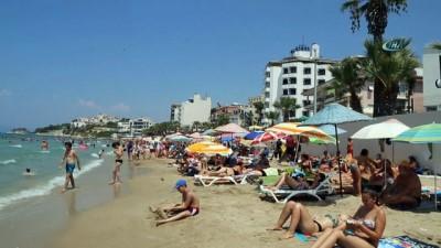 salda -  Sıcaktan bunalanlar plajlara koştu