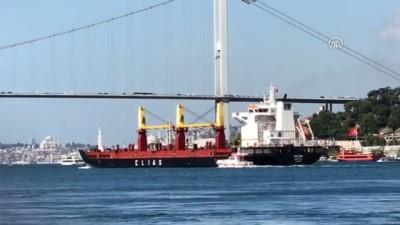 Arızası giderilen gemi rotasına devam etti - İSTANBUL
