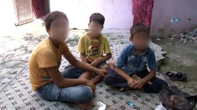Bağımlı kadın, çocuğuna verilen yardım parasıyla eroin alıyor