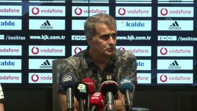 Beşiktaş-Akhisarspor maçının ardından - Beşiktaş Teknik Direktörü Güneş 1 - İSTANBUL