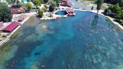 Sakarya Nehri yeniden doğuyor...Turizmin göz bebeği haline gelecek olan Sakarya Nehri havadan görüntülendi