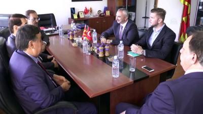 ogretmen - Samsun'dan gelen heyet Makedonya'da - ÜSKÜP