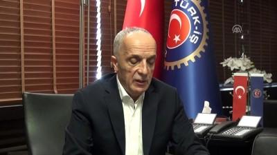 Türk-İş'ten spekülatif atağa karşı birlik mesajı - ANKARA