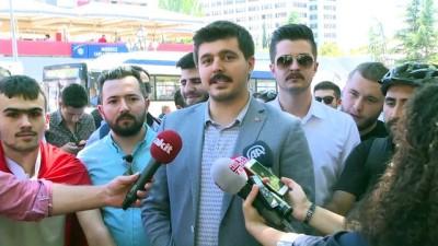 AK Parti'nin 17. kuruluş yıl dönümü - Bisiklet turu - ANKARA