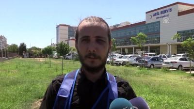 Antalya'da gazetecinin darbedildiği iddiası