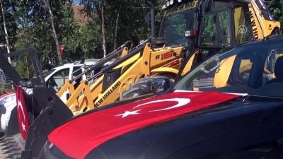 Çukurca Belediyesine 3 araç hibe edildi - HAKKARİ