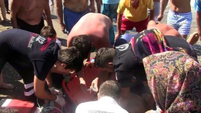 Denizde kalp krizi geçiren kişi kurtarıldı - DÜZCE