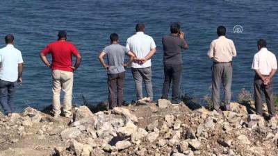 Denizde kaybolan genci arama çalışmaları - ZONGULDAK