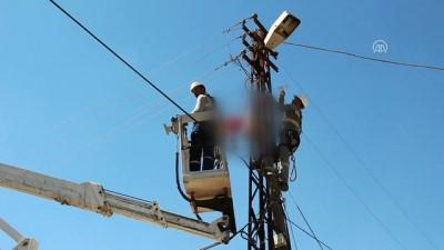 Elektrik akımına kapılan işçi hayatını kaybetti - HATAY