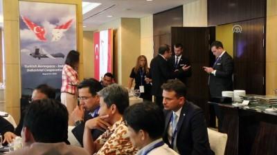 Endonezya'da Türk havacılık ve uzay sanayisine yoğun ilgi - CAKARTA
