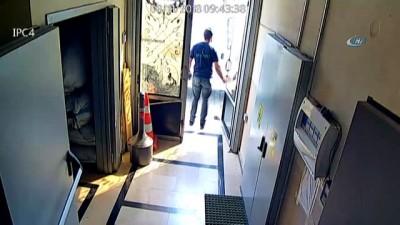 İstanbul'da organize hırsızlık çetesi çorap fabrikasını böyle soydu