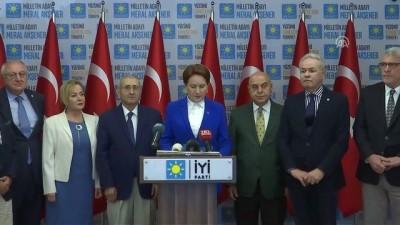 İYİ Parti'den 'TBMM toplansın' çağrısı - ANKARA