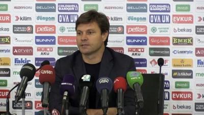 bulduk - Kayserispor - Antalyaspor maçının ardından - KAYSERİ