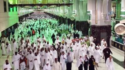 - Müslümanlar Kabe'ye Akın Etti - Hacı Adaylarının Yüzde 80'i Kutsal Topraklara Ulaştı