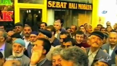 Sivas Belediyesi'nden  AK Parti'nin kuruluşunun 17'inci yıl dönümüne özel nostaljik Erdoğan klibi