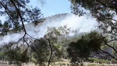 helikopter -  Antalya'daki orman yangını kontrol altına alındı