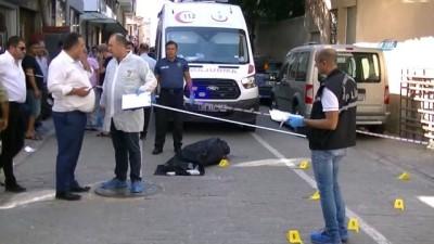 Aydın'da sokak ortasında cinayet kamerada