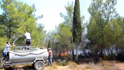 helikopter - Ayvalık'ta orman yangını (3) - BALIKESİR