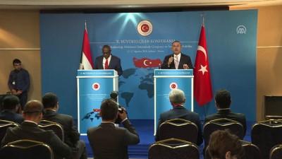 Çavuşoğlu: 'Sudan Afrika için de bizim için de çok önemli, çok stratejik bir ülkedir' - ANKARA