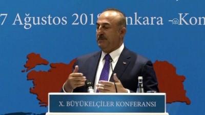 Dışişleri Bakanı Çavuşoğlu: 'ABD ile her şeyi konuşmaya hazırız, ancak tehdit dili ve dayatma olmayacak' - ANKARA