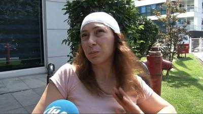 Fulya'da motosikletlinin çarptığı hemşire kadın o anları anlattı