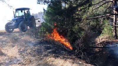 helikopter - Göynük'de orman yangını (2) - BOLU