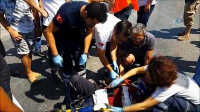 Milas'ta trafik kazası: 1'i ağır 3 yaralı