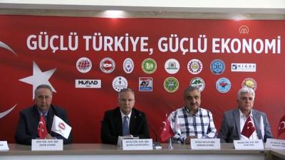 Niğde'deki STK'lardan Türk lirasına destek
