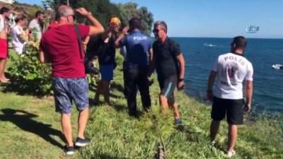 Sinop'ta serinlemek için denize giren şahıs boğuldu