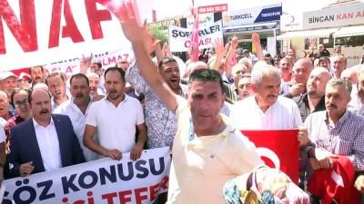 Şoförlerden Türk lirasına destek - ANKARA