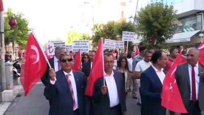 Türk lirasına destek kampanyaları - UŞAK