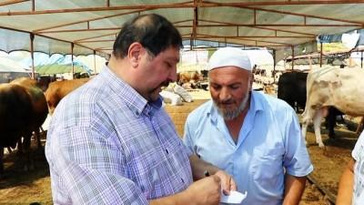 Türkiye Kasaplar Odası Genel Başkan Yardımcısı Yardımcı'dan, marketlere minyatür koçlu gönderme
