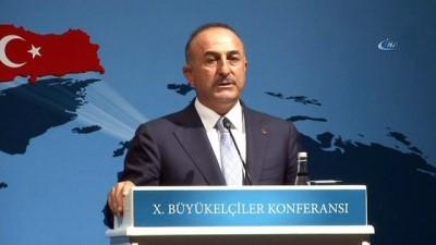 Bakan Çavuşoğlu: 'ABD'nin bu işlerin kovboy filmi olmadığını görmesi lazım'