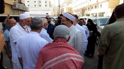 Diyanet İşleri Başkanı Erbaş Mekke'de hastaları ziyaret etti - MEKKE