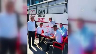 Hastane personelinden kan bağışına klipli destek - ZONGULDAK