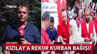 Kızılay'a rekor bağış (Beyaz Tv Özel Haber)