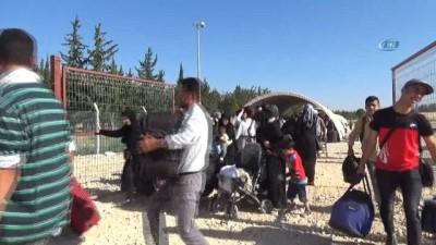 Kurban Bayramı için ülkesine giden Suriyelilerin sayısı 27 bini aştı
