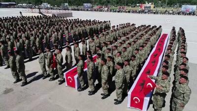Zırhlı Birliklerde yemin töreni (3)-Drone - ANKARA