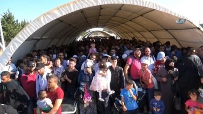 Bayramlaşmak için ülkesine giden Suriyelilerin sayısı 31 bine ulaştı