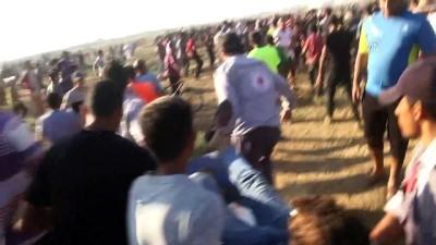 Gazze'deki Büyük Dönüş Yürüyüşü gösterileri devam ediyor (2)
