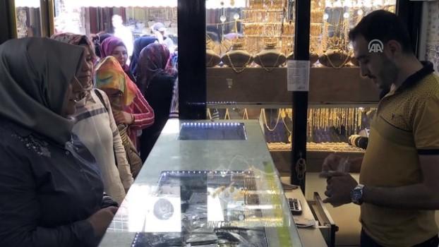 sizce - Kilis ve Gaziantep'ten Türk lirasına destek - KİLİS/GAZİANTEP