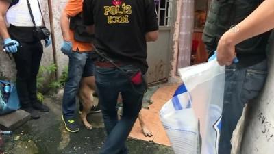 ozel harekat polisleri - Sarıyer'de uyuşturucu operasyonu - İSTANBUL