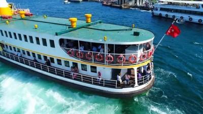 Şehir Hatları vapurları 7 buçuk ayda Marmara Bölgesi'nin nüfusu kadar yolcu taşıdı