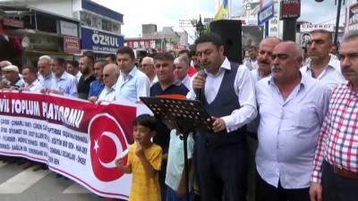 Sivil toplum kuruluşlarından Türk lirasına destek - HATAY
